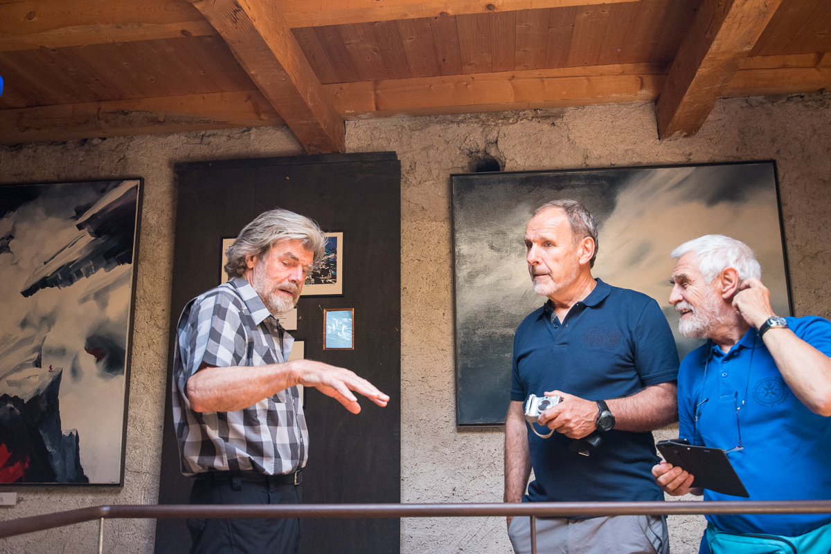 The unforgettable meeting with Reinhold Messner