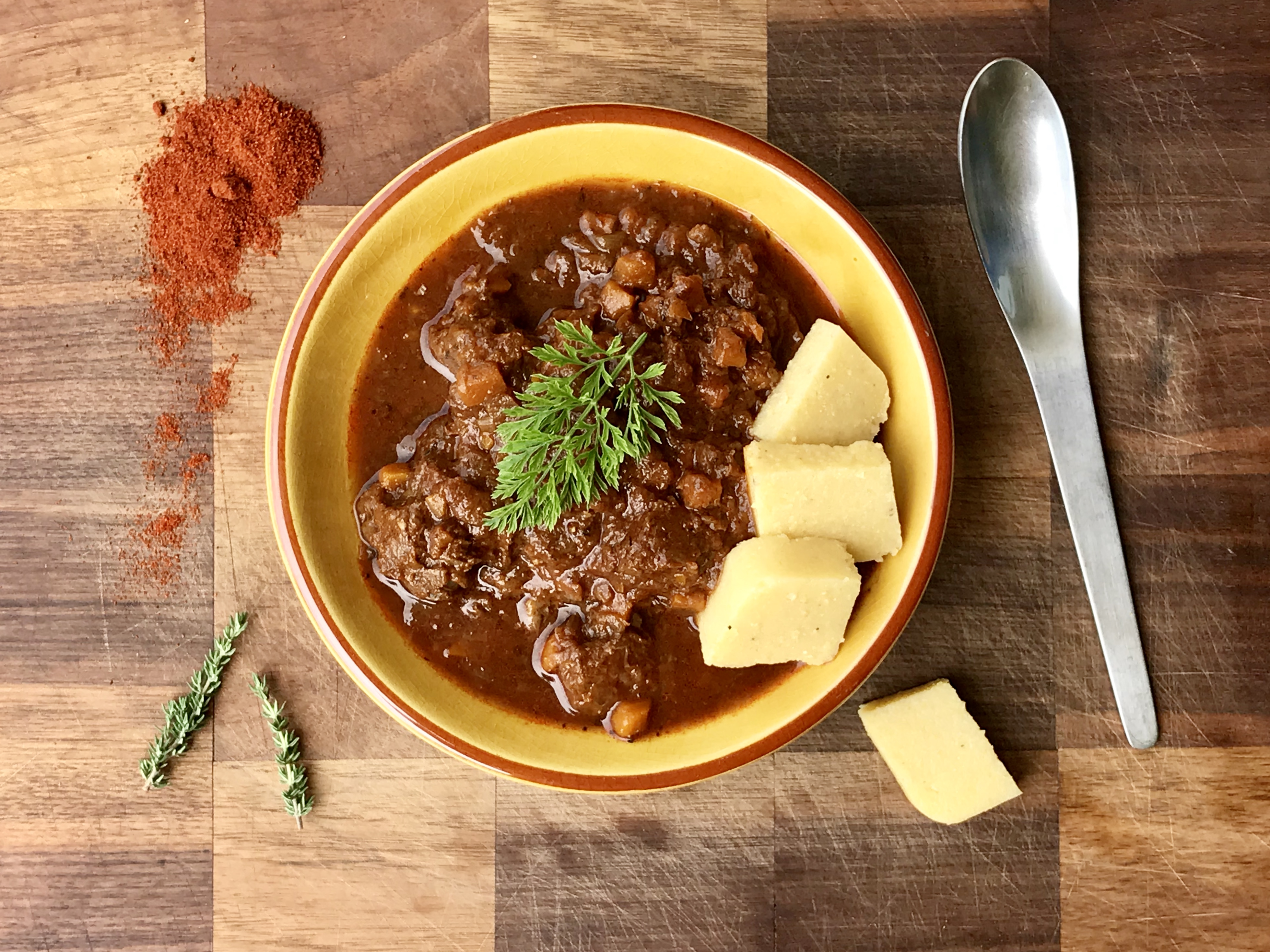 Musings on recipes and goulash