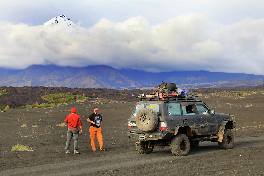 Amongst the volcanoes of the Kamchatka peninsula