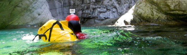 Short glimpse in the world of canyoning