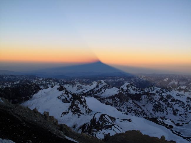Praznično vzdušje v južnoameriških gorah. Srečno novo leto!